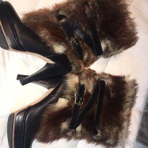 Limited addition ugg fur boots